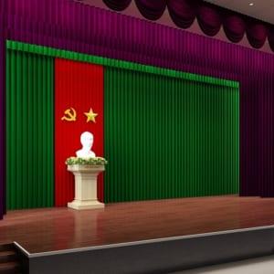 Phông Hội Trường , Sân Khấu